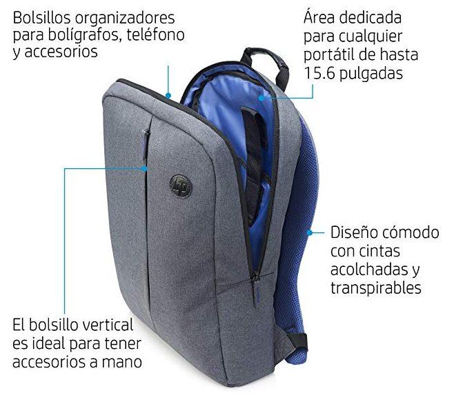 HP Value Backpack 15.6 precios económicos
