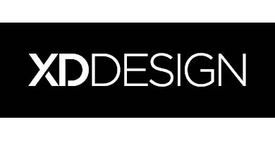Logo de mochilas XD Design para portátiles